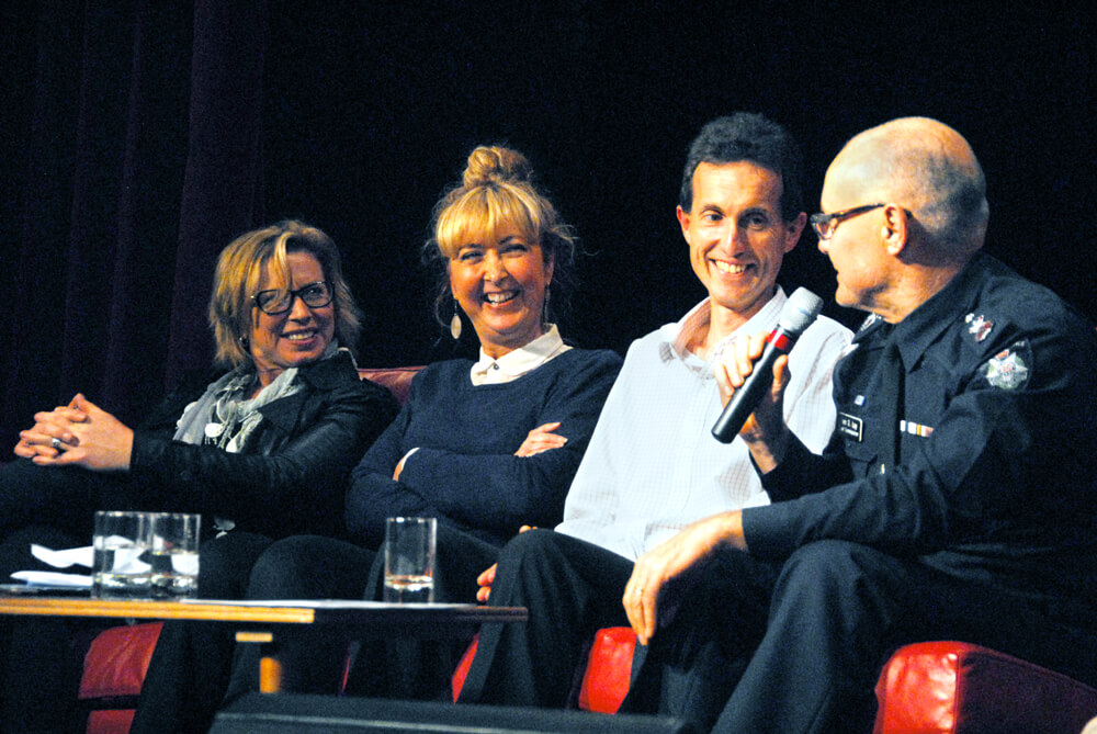 Rosie Batty, Ken Lay and Peninsula Voice Panel